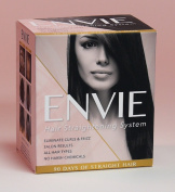 ENVIE 90 Day Single Application Professional Salon Result Hair Straightening System with No Harsh Chemicals and Formaldehyde Free