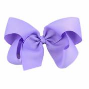 Lucoo Big Hair Bow Boutique Grosgrain Ribbon Hairpins Hairpins Headwear For Women Girl