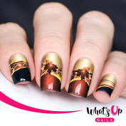 Whats Up Nails – P033 Fall Charms Water Decals Sliders for Nail Art Design