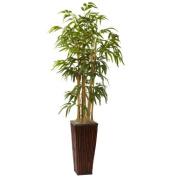 1.2m Bamboo w/Decorative Planter