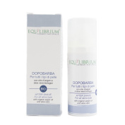 EQUILIBRIUM - COSMESI NATURALE AFTER SHAVE For all skins type with organic argan oil and aloe vera 50 ml