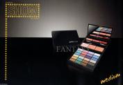 Bella Italy Today Show Eye Shadow Palette with 24 Eyeshadows Cosmetic Bag Sombras de Ojos