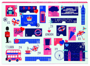 Technic Christmas in London Cosmetic Advent Calendar Make-up Sets