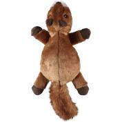 goDog Flatz Squirrel with Chew Guard, 33cm