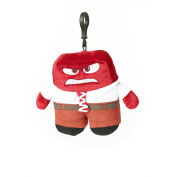 Inside Out Anger 20cm Plush Zippered Clip