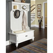 Bowery Hill Hall Tree Stand in Brushed White