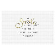 Area Rugs from DiaNoche by Zara Martina - A Smile Gold