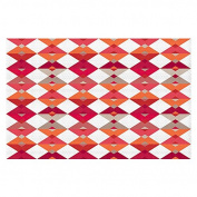 Area Rugs from DiaNoche by Julia Grifol - Triangles Red
