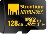 Strontium Nitro 128GB MicroSDXC Class 10 UHS-I Memory Card Up to 70MB/s
