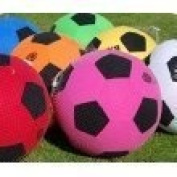 Mega Ball Approx 60cm - PRICED EACH - Picture shows the assortment of colours