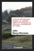 Lives of the English Saints