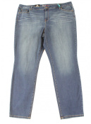 Style & Co. NEW Blue Women's Size 22W Plus Mid Rise Slim Skinny Jeans