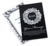 USI WrapSure Memorial Prayer Card Thermal (Hot) Laminating Pouches, 7.3cm x 12cm , 5 Mil, Pack of 500