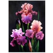 WinnerEco 5D Diamond DIY Painting Flower Painting Cross Stitch Needlework Craft Decor