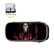 Alice Madness Returns Pencil Case Pen Bag Makeup Pouch Stationery