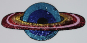 Sequin Patch: Rainbow Planet