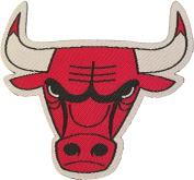 NBA Team Iron On Patches (Bulls
