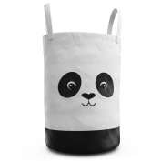 Panda Laundry Hamper for Nursery or Kids Room - Storage Container for Toys, Stuff Animals or Clothing