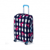 Luggage Protector Suitcase Protective Cover (Apply to 46cm - 50cm ), Suitcase Cover by QISC