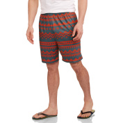 Aztec Print Men's Knit Printed Mesh Short