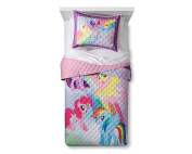 My Little Pony The Movie Twin/Full Quilt and Sham
