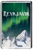 F122 REYKJAVIK FRIDGE MAGNET ICELAND VINTAGE TRAVEL PHOTO REFRIGERATOR MAGNET