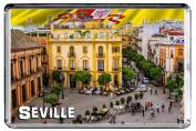 E035 SEVILLE FRIDGE MAGNET SPAIN TRAVEL PHOTO REFRIGERATOR MAGNET
