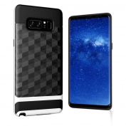 Aurorax For for Samsung Galaxy Note 8, Ultra Thin Hybrid PC+Silicon Bumper Cover