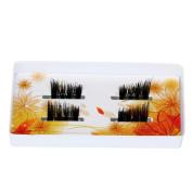 Ultra-thin 0.2mm Soft Magnetic Eye Lashes, CSSD 3D Reusable False Magnet Eyelash