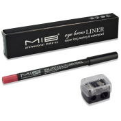 Lip Lipliner Pencil With Sharpener Free - Soft Waterproof Smooth Lip Liner Pen