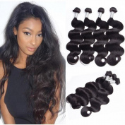 SINA Virgin Brazilian Hair Body Wave 4 Bundles 18 20 20 50cm Human Hair 10A Full Weaves/Weft/Extensions for Black Women .