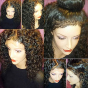 JAHUI Hair 200%-280% Density Pre Plucked 360 Lace Frontal Wigs for Black Women Brazilian Virgin Hair 360 Lace Wigs with Baby Hair