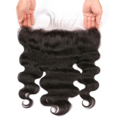 Lace Frontal Closure - BEEOS HAIR Free Part Ear To Ear 13x 4 Full Frontal Lace Closure Body Wave Hair Extensions With Baby Hair,25cm