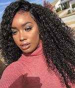 360 Lace Wigs Brazilian Virgin Hair Kinky Culry Full Lace Human Hair Wigs For Black Women With Baby Hair