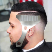 Hangdawuzi Beard Styling and Shaping Template Comb Tool ( Lining / Shaping / Edging )