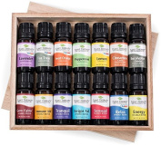 14 Essential Oil Set (7 Synergies and 7 Singles) Includes 100% Pure, Therapeutic Grade of