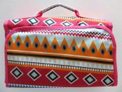 Cosmetic Bag Makeup Bag Cosmetic Organiser - Aztec Pink