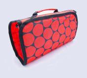 Cosmetic Organiser Makeup Bag Cosmetic Bag - Red Dots