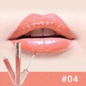 Diamond Lipstick,vmree Waterproof Moisturiser Smooth Liquid Lipstick Lipgloss Red Mouth Lip Glosses Beauty Makeup Tools