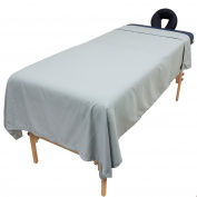 Tranquilly Microfiber Massage Flat Sheet