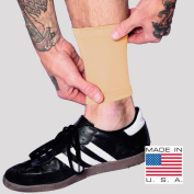 Tat2X Ink Armour Premium Ankle 15cm Tattoo Cover Up Sleeve - No Slip Gripper - U.S. Made - Light - XSS