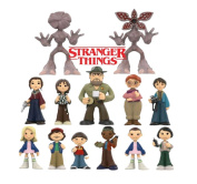 Funko Mystery Minis - Stranger Things Blind Miniature Figure - Display Case of 12 Sealed Individual Boxes