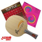 Racket DHS SR-A FL Handle + Rubber Tuttle 888 + Sanwei T88-Taiji Plus
