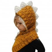 Baby Beanie, JoyJay Baby Knitted Hats Winter Kids Girls Boys Cute Fox Warm Woollen Coif Hood Scarf Hemming Caps