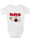 Popeye Babygrow Bodysuit Baby Clothes New Baby Boy Girl Baby