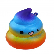 IGEMY Exquisite Fun Crazy Poo Scented Squishy Charm Slow Rising 7cm Simulation Kid Toy