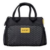 Badabulle Boho Change bag in Black