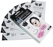 Buycrafty Charcoal Nose Mask 10Pcs Black heads Removing & Pore Refining mask