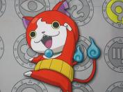 Yo Kai Watch 100% Polyester (FLAT SHEET ONLY) Size Boys TWIN Girls Kids Bedding