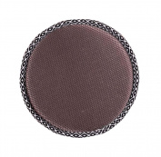 Simple Round Stool Cushion Comfortable Chair Pads, Brown